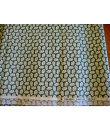 General Fabrics Co. green white calico tiny flowers fabric cotton by th... - $9.90