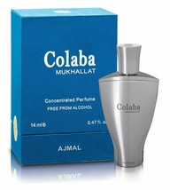 Ajmal Colaba Mukhallat Concentrated Oriental Perfume Free From Alcohol 14ml - $45.59