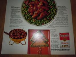 Campbell's Tomato Soup Santa Sauce Print Magazine Ad 1969  image 3