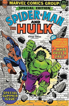 Spider-Man & The Hulk Comic Book Special Edition Chicago Tribune 1980 NEAR MINT - $16.39