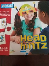 Head Hintz Game (Kids Version Of HedBanz) Guess the card on your head Parker Bro - $25.43