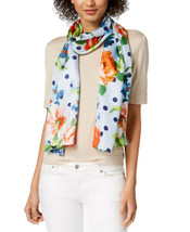Echo Springtime Silk Scarf (Floral Print, One Size) - £31.14 GBP