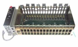 ALLEN BRADLEY 1771-A4B 16 SLOT I/O CHASSIS W/ 1771-P7 POWER SUPPLY