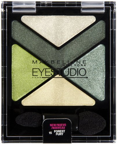 MAYBELLINE EYESTUDIO COLOR EXPLOSION LUMINIZING EYE SHADOW #15 FOREST FURY