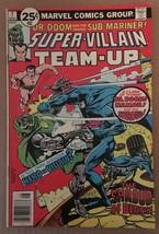 Super Villain Team Up #8 Marvel Comic Book 1976 FN DR DOOM & Sub-Mariner7 - $4.49