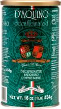 D'Aquino Decaffeinated Espresso Blend Ground Coffee ( Italian Espresso )... - $22.76