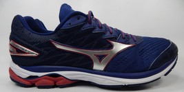 Mizuno Wave Rider 20 Running Shoes Men's Size US 13 M (D) EU 47 Blue Red