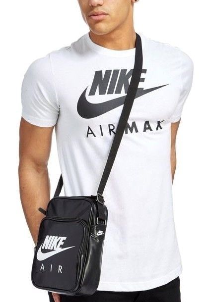 S l1600. S l1600. Previous. New NIKE AIR HERITAGE Small Items II Shoulder  BAG Handbag Leather BZ9759-010 39b2c0d8f81aa
