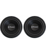 Q-power QPF15 15-Inch 4400W Deluxe Series DVC Subwoofers (Pair) - $218.95