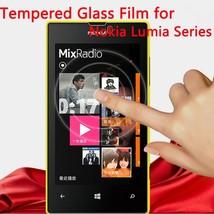 Screen Protector Tempered Glass Film for Nokia Microsoft Lumia 520 525 5... -