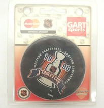 Gart Sports NHL 1996 Stanley Cup Championship Puck Mint in Original Packaging - $14.84