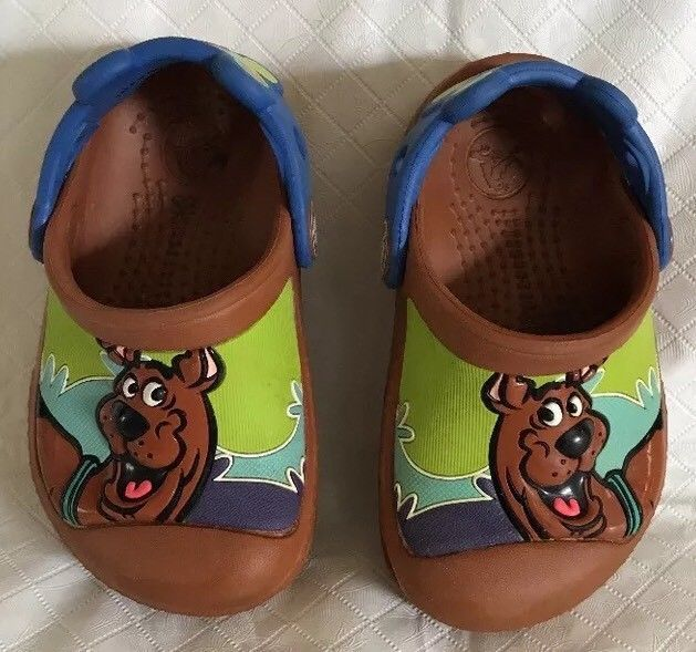6f9d3d7ceff Crocs Toddler Kids Scooby Doo Clogs Brown and 50 similar items