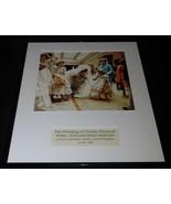 1981 Royal Wedding Princess Diana Prince Charles 16x20 Framed Photo Disp... - $74.44