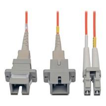 Tripp Lite N458-001-62 Duplex MultiMode 62.5/125 Fiber Adapter LC-SC M/F... - $39.18