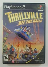 Thrillville Off The Rails PS2 Game No Manual 2006 LucasArts Playstation 2 - $6.79