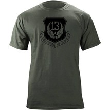 13th Air Force Subdued Patch T-Shirt - $20.99