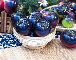 300pcs Giant Tomato Black Red Organic Fruit Seeds delicious garden veget... - $17.15