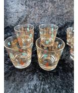 Vintage Set of 4 Lowball Glasses and 5 Shot Glasses - $98.99