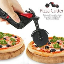 Pizza Wheel Cutter Motorcycle Knife Blade Chopper Slicer Non Stick Kitch... - €8,68 EUR