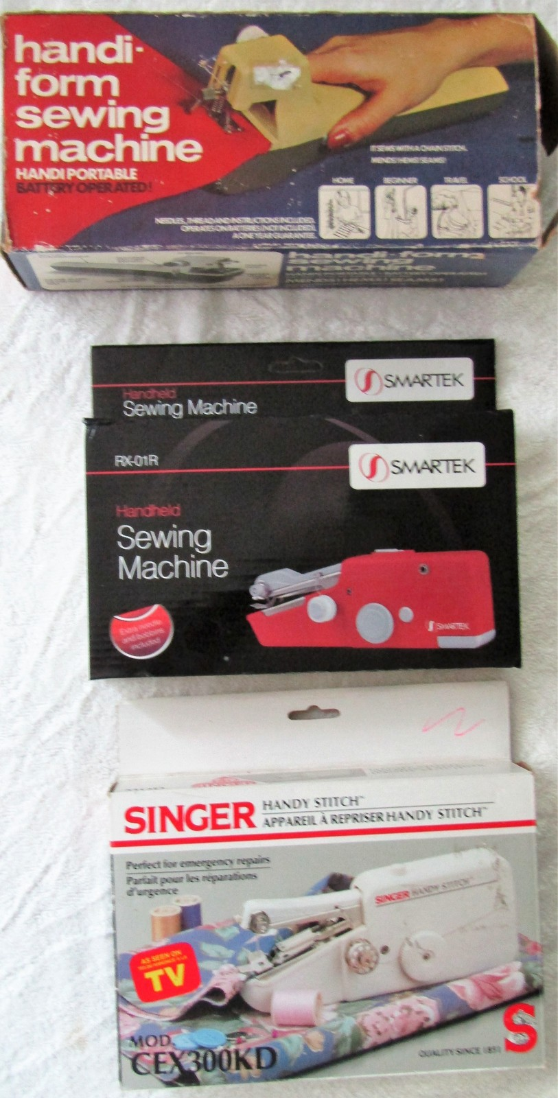 Hand-Held Sewing Machines ~~You Choose