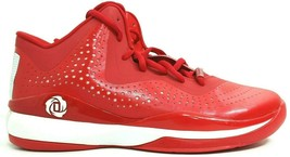 Adidas SM D Rose 773 III Red Men's Basketball Shoes Size 17 Derrick S84348 - $38.89
