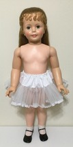 """White Petticoat with lace Slip Puffy for Patti playpal  35"""" - 36"""" doll - $9.53"""
