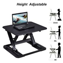 Adjustable Riser Stand Standing Folding Lap Tabletop Laptop Home Office ... - $118.99