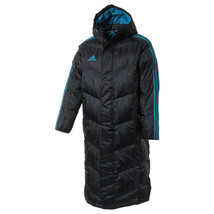 Adidas Shadow Long Parka Hooded Down Jacket Winter Sportswear Navy CD1148 - $179.99