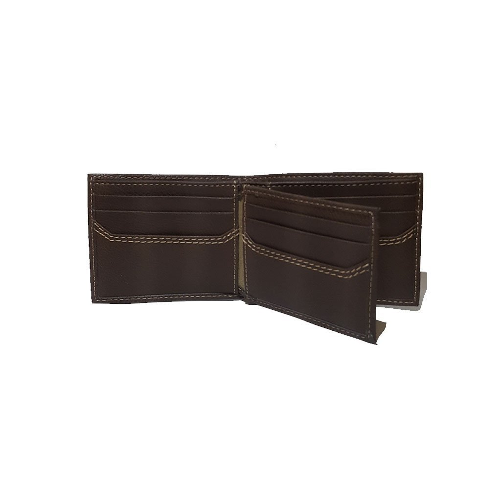 Levi's® 31LV1344 men's extra capacity slimfold wallet brown one size image 2