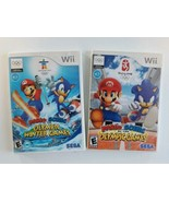Mario & Sonic at the Winter & Summer Olympic Games 2008 Beijing 2012 Van... - $25.15