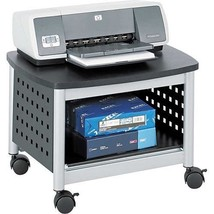 Portable Printer Stand Mobile Office Cart Rolli... - $87.05