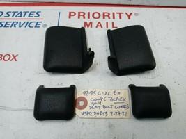 OEM 92-01 CIVIC EG INTEGRA DC DB BLACK front seat lower rear bolt cover ... - $29.39