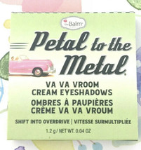 theBalm Petal to the Metal Va Va Vroom Cream Eyeshadow in Turbo .04oz Tr... - $6.63