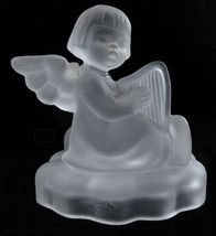 Goebel Hummel Angel crystal candle holder Avon 1995 - $7.95