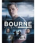 The Bourne Ultimate Collection DVD Matt Damon, Jeremy Renner, Franka Pot... - $14.85