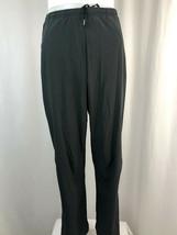 Nike Dri-Fit Dark Gray Track Athletic Pants, Men's Size Small - $28.49