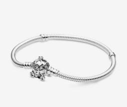 PANDORA charm bracelet Cinderella handmade 925 sterling silver Heart Dan... - $19.99+