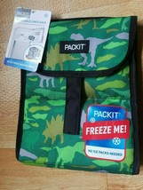 Packit Pack It Freezable Lunch Bag Green Dinosaur NWT New (USA SHIPS FREE) - $18.80