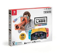 Nintendo Labo Toy-Con 04: VR Kit - Starter Set + Blaster - Switch [video... - $59.35