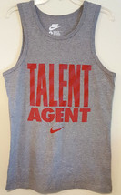 Nike Rn 156323 Men Talent Agent Graphic Tank With Red Swoosh Size: Small Reg Fit - $17.55