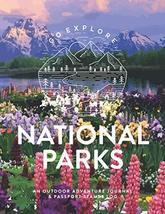 National Parks: An Outdoor Adventure Journal & Passport Stamps Log (Larg... - $5.94