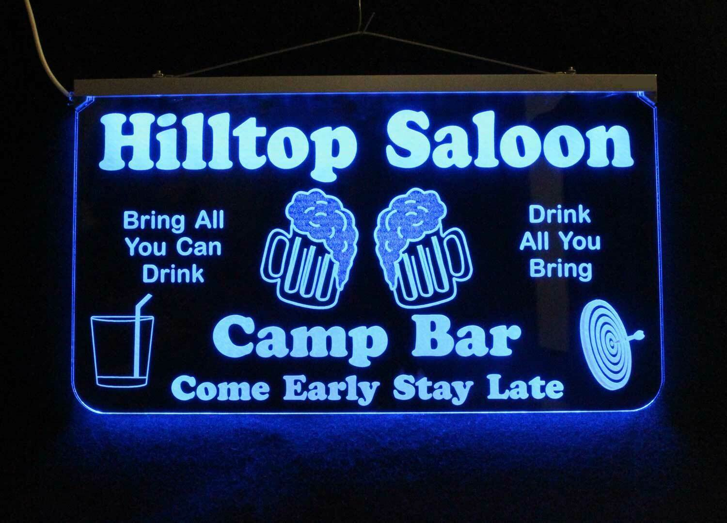 Personalized LED Man Cave Sign Custom Garage Sign, Bar sign, Gift for Dad image 5