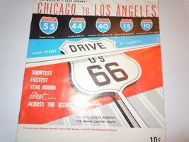 Vintage Drive US 66 Chicago to Los Angeles Booklet 1961 - $8.99