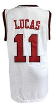 Jerry Lucas #11 College Basketball Jersey Sewn White Any Size image 5