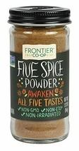 Frontier Five Spice Powder, 1.92-Ounce Bottle  - $14.18