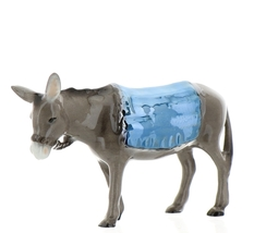 Hagen-Renaker Specialties Ceramic Nativity Figurine Donkey with Blanket image 7