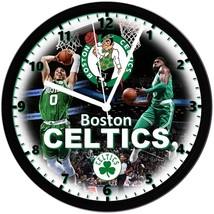 "Boston Celtics Homemade 8"" NBA Wall Clock w/ Battery Included - $23.97"