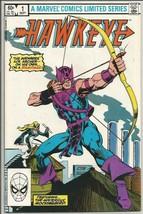HAWKEYE #1 VF- Marvel Comics 1stPrint & series 1983 Brett Breeding Aveng... - $22.28