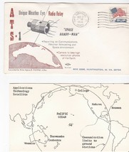 SPACE HANDY-MAN ATS-1 LAUNCH CAPE CANAVERAL DECEMBER 7 1966 SWANSON WITH... - $3.58