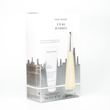 Issey Miyake L'eau D'issey 3.3 Oz EDT Spray + Body Lotion 2.5 oz 2 Pcs Gift Set image 1